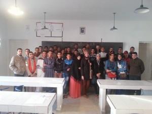 صورة جماعية النادي العلمي 2014 2015