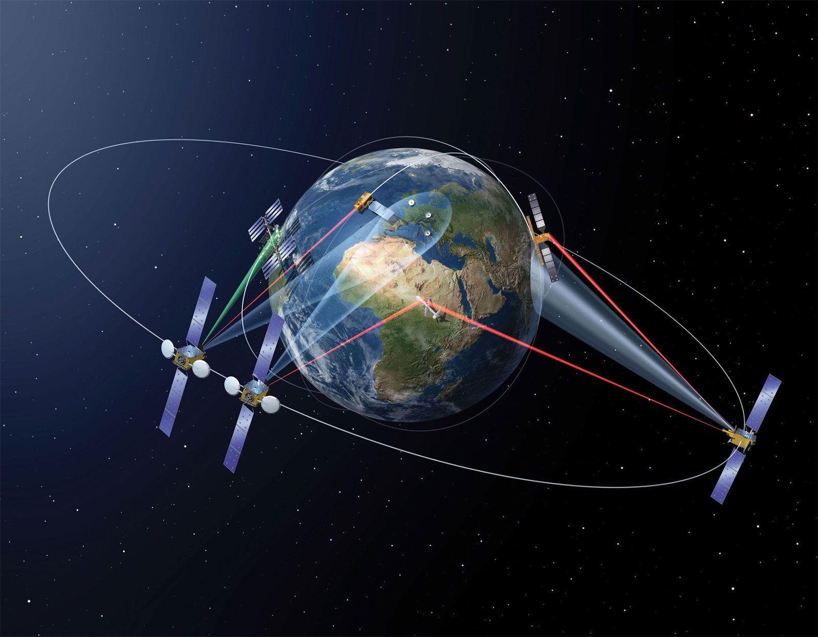 Bientôt le très haut débit entre satellites