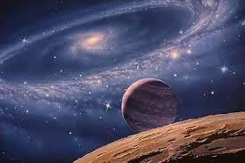 الكون المجرات الكواكب
