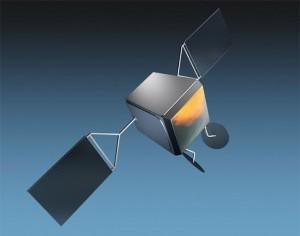 Airbus Defence and Space développera une plateforme dédiée aux satellites de la constellation OneWeb. Elle devra être intégrée dans une chaîne d'assemblage qui prévoit la construction de 900 satellites. © Airbus DS