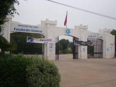 كلية العلوم ابن زهر اكادير  chtoukaphysique
