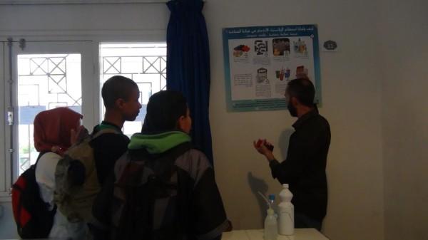 أرشيف الأستاذ مولاس أدريس مع المتعلمين إثناء المعرض البيئي بالثنوية التاهيلية ايت باها chtoukaphysioque