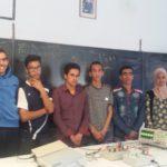 الثانوية التأهيلية أيت باها :  مشروع فريد من نوعه تلاميذ السنة الثانية بكالوريا علوم رياضية  ينجزون تجارب مادة العلوم الفيزيائية لكافة المستويات