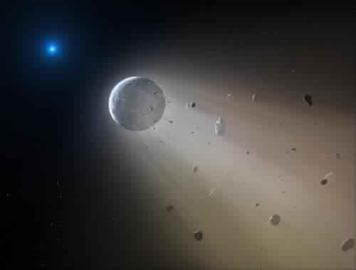 اكتشاف راع كوكب صغير قريب لكوكب الارض بولسطة المرصد اوكايدمن Chtoukaphysique