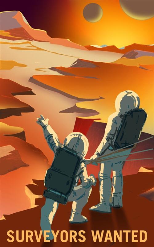 حياة على سطح المريخ