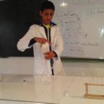 تجربة 1 : تحضير محلول مائي ذي تركيز معين عن طريق الذوبان