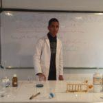 تجربة 9 : تاثير درجة الحرارة على سرعة التفاعل
