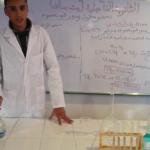 Expérience 3 : Influence de la concentration des réactifs sur la vitesse de la réaction chimique ( partie 3 )