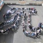 الرياضيون والفيزيائيون  يحتفلون  باليوم العالمي للعدد باي