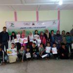 نادي الصحة و البيئة و نادي ويناروز  ينظمان انشطة مختلفة لفائدة أطفال مدرسة طارق بن زياد في اطار ايام تحسيسية بمخاطر التدخين
