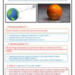 Chapitre 1 : La gravitation universelle : Cours, Activités et Exercices d'application ,TCS BIOF