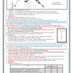 Chapitre 2 : Exemples d'actions mécaniques : Activités ,Exercices d'application , TCS BIOF , Pr JENKAL RACHID
