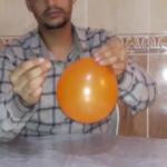 Exp N°7 : Comment piquer un ballon de baudruche avec une aiguille sans le faire exploser ?