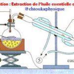 Ch 2 : Exercice + Corrigé ( Vidéo ) : Hydrodistillation , Extraction de l'huile essentielle de la lavande