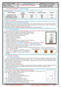 série d'exercices 3, La synthèse d'espèces chimiques , TCS BIOF , Pr JENKAL RACHID_001