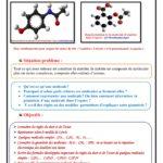 Chapitre 5 : Géométrie de quelques molécules , Cours , Activités , Exercices , TC BIOF