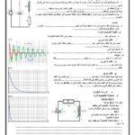 les oscillations libres dans un circuit RLC Série , Cours ( Word ) , 2 Bac , SM , PC , SVT