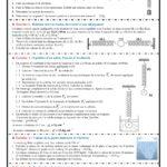 Série 5 :  équilibre d'un solide soumis à deux forces , TCS BIOF