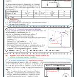 Chapitre 7 : équilibre d'un solide susceptible de tourner autour d'un axe fixe , Activités , Exercices ,TCS BIOF