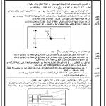 فرض محروس رقم 1 الدورة 2 للسنة أولى علوم رياضية مع التصحيح : المجال الكهرساكن ، طاقة  الوضع الكهرساكنة ، التفاعلات أكسدة إختزال ، المعايرة المباشرة