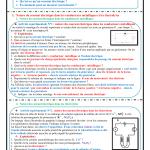 Chapitre 8  , Le courant électrique continu , Activités , Exercices d'application  , TCS BIOF