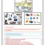 Chapitre 8  , Le courant électrique continu , Cours , Activités , Exercices d'application  , TCS BIOF