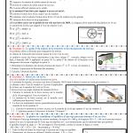 série 7, Equilibre d'un solide pouvant tourner autour d'un axe fixe , TCS BIOF ,