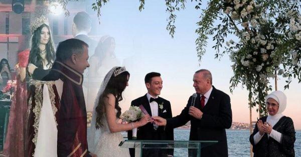 نجم ريال مدريد السابق  مسعود أوزيل يتزوج بملكة جمال تركيا '' نور '' بطلة فيلم  '' لن اتخلى ابدا '' بحضور اردوغان