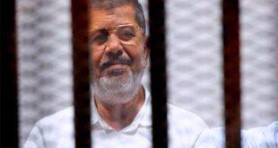 وفاة الرئيس المصري السابق محمد مرسي اثناء محاكمته