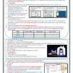 Chapitre 1 : Ondes mécaniques progressives :  Activités, Exercices d'application, 2BAC BIOF