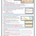 Chapitre 2 : Ondes mécaniques progressives périodiques  : Activités , Exercices d'application  , 2BAC BIOF  ,