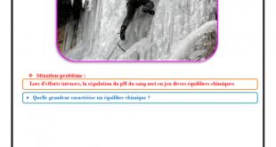 ♣ Chapitre 4 : état d'équilibre d'un système chimique : Cours , Activités , Exercices d'application : 2BAC BIOF , Pr JENKAL RACHID,