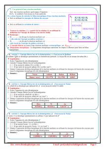 Chapitre 5 : Noyaux , masse et énergie : Cours , Activités , Exercices d'application , 2BAC BIOF , Pr JENKAL RACHID,