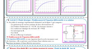 ♣ Chapitre 7 : Dipôle RL , Activités , Exercices d'application : 2BAC BIOF , Pr JENKAL RACHID;