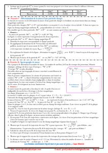 ♣ Série d'exercices N° 14 : Mouvements plans : 2BAC BIOF , SM et PC , Pr JENKAL RACHID,