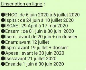 تاريخ التسجيل في المدارس العليا بالمغرب 2020 2021
