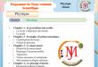 Programme de Tronc commun sciences ( TCSOF)
