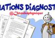 Évaluations diagnostiques 1BAC BIOF de la matière Physique-Chimie