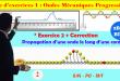 ♣2BAC BIOF - Exercice 2 + Correction : Série d'exercices 1: Ondes mécaniques progressives (OMP) - Pr JENKAL RACHID