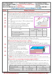♣Devoir Surveillé N° 1 Semestre 1 : TCS OF - Modèle 2 , 2020 / 2021 - Pr JENKAL RACHID,