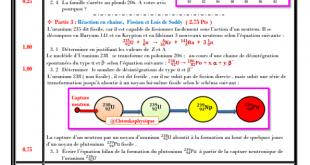 Devoir surveillé N° 3 semestre 1 , 2BAC BIOF -PC et SM, 2020-2021 , Pr JENKAL RACHID,