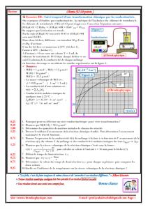 ♣ Devoir surveillé N° 2 semestre 1 , 2BAC BIOF -PC et SM, 2020-2021 , Pr JENKAL RACHID,