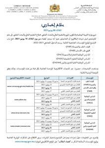 إعلان هام : وزارة التربية الوطنية تعلن فتح باب الترشيح لولوج المؤسسسات الجامعية ذات الاستقطاب المحدود